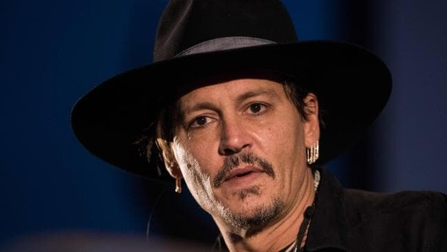 "This again? Seriously.  <a capiid=""f606a0fcbe0ce703216099382c22c13a"" class=""capi-video"">Johnny Depp Expects Heat After Talking About Assassinating the President</a> Picture: OLI SCARFF / AFP"