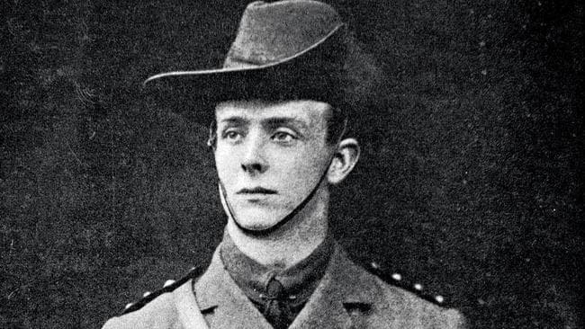 First Australian medical officer killed in WWI ... Captain Brian Pockley.