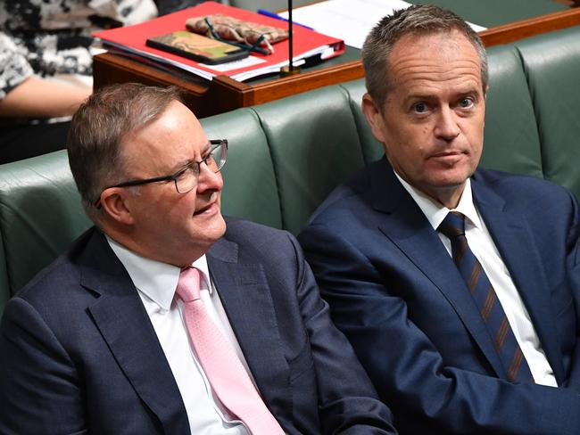 "While Labor's Anthony Albanese supports Turnbull's policies for the ""greater good"", Opposition leader Bill Shorten has opposed reforms that were originally Labor policies ""for cynical political reasons"". Picture: AAP Image/Mick Tsikas"