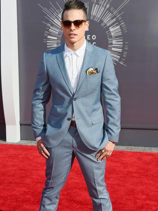 Casper Smart attends the 2014 MTV Video Music Awards.