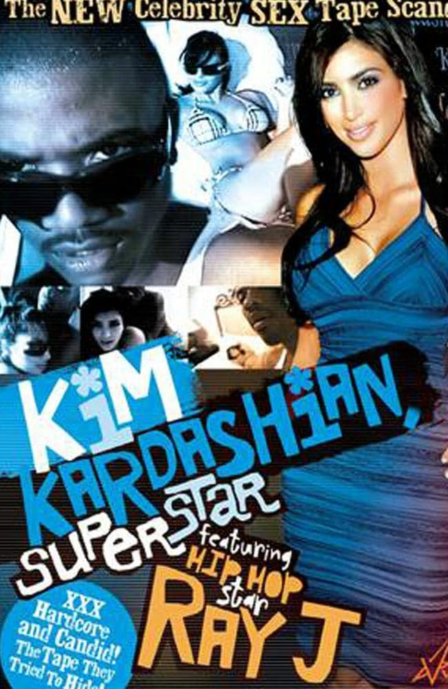Notorious Kim ... Since Kardashian's sex tape became public in 2007, her star has ascended rapidly. Picture: Splash News