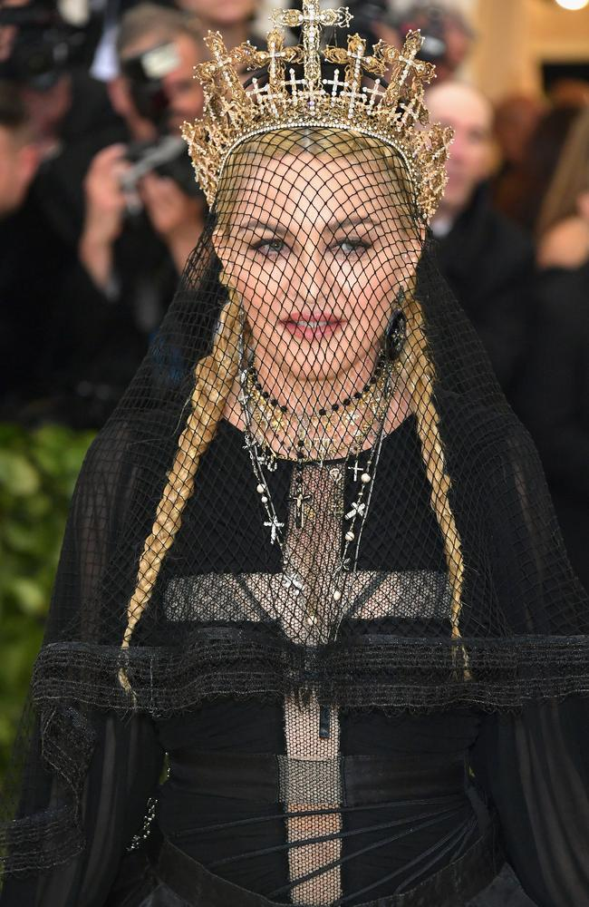 Madonna owned the evening's theme. (Photo by Neilson Barnard/Getty Images)
