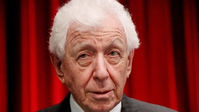 Chairman Frank Lowy's Westfield Corporation will be taken over by European commercial property company Unibail-Rodamco. Picture: Hollie Adams/The Australian