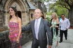 <p>Anthony Watmough and Elle McLeod's wedding at St Thomas' Anglican Church. Picture: Attila Szilvasi</p>
