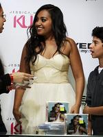 Singer Jessica Mauboy is launching her first fashion line called Kuku in Myer Pitt Street Mall. Picture: Gibson Nic