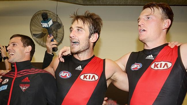 Many may have thought Essendon captain Jobe Watson was a sure thing to claim the Crichton medal, but first-year Bomber Brendo...