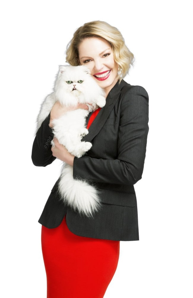 Why Is Katherine Heigl Doing Cat Litter Commercials