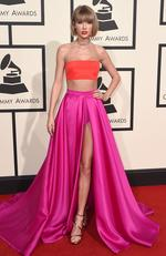 Taylor Swift attends The 58th GRAMMY Awards at Staples Center on February 15, 2016 in Los Angeles. Picture: AP
