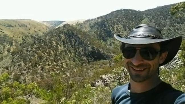 The body of David Occhipinti, 35, was found at Werribee Gorge.