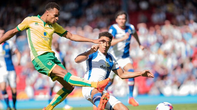 Jacob Murphy of Norwich City.