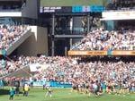 Showdown Port v Crows, Adelaide Oval, March 29, 2014. Photo: Paul Dunn via NewsForce.