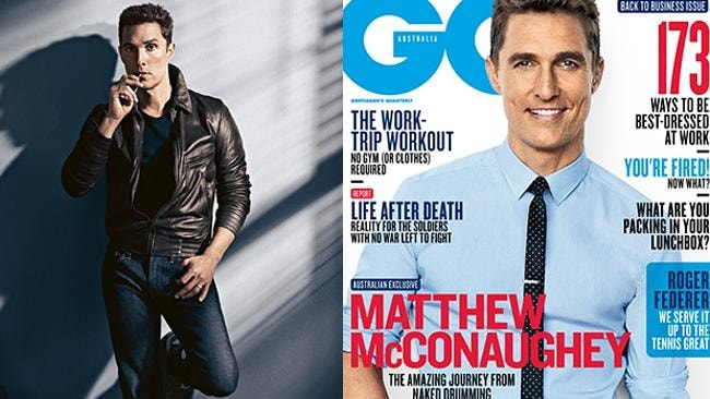 McConaughey is on the cover of February's issue of GQ.