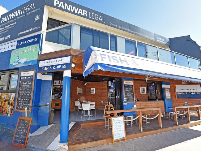 Top shelf: Terrigal Beach Fish & Chip Co in Terrigal.