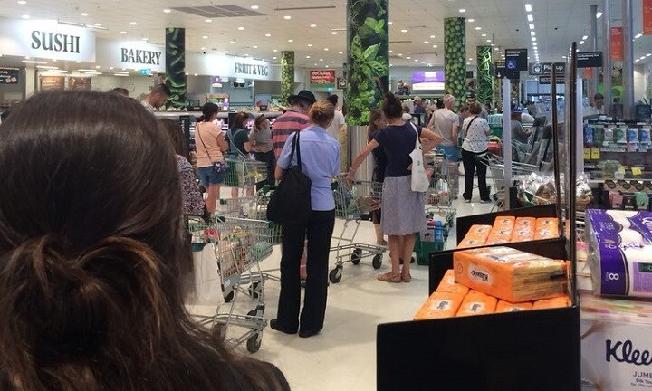 Woolworths check-outs hit by national outage