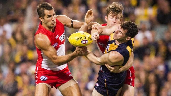 The Eagles were too good in the end but Josh Kennedy led the way again for the Swans.