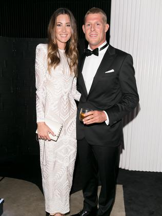 Mick Fanning and Karissa Dalton at GQ Men of the Year in November.