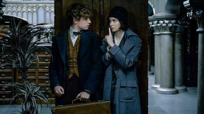 Waterston's witch Tina is Newt Scamander's guide to the magical ins and outs of New York in Fantastic Beasts and Where to Find Them. Picture: Warner Bros