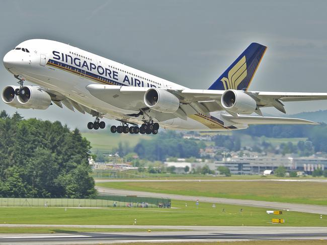 Always popular, Singapore Airlines took third place. Picture: Aero Icarus.