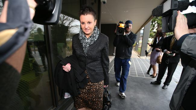 "Not backing down ... Palmer United Party Senator Jacqui Lambie refused to apologise, but did praise the ""bravery"" and ""courage"" of the Chinese people."