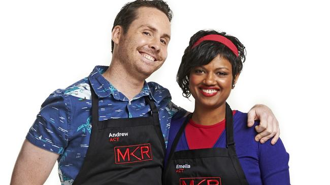 My kitchen rules josh and amy s epic fish fail herald sun for Y kitchen rules season 5