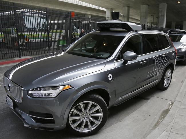 In the wake of the accident, Uber has suspended its autonomous vehicle program. Picture: AP/Eric Risberg