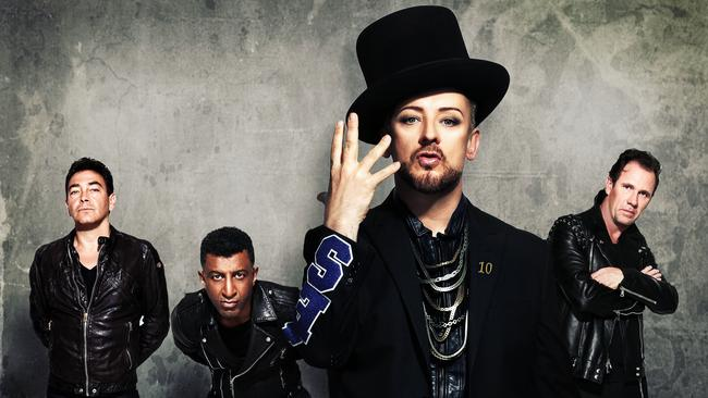 Culture Club are out of traction and back in action, armed with their hits.