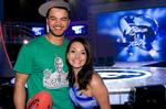 <p>Stars shine... Aussie Idol king and queen Guy Sebastian and Ricki-Lee. Picture: Channel 10</p>