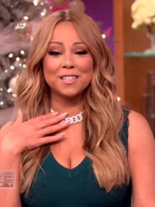Mariah Carey gushes over James Packer to Steve Harvey. Picture: Steve Harvey Show