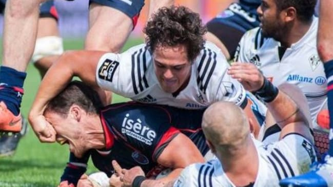 Matthieu Ugalde has been banned for 14 weeks for eye-gouging.