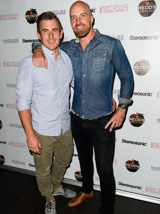 Dave And Fellow Bachelorette Lad Alex At Novas Red Room
