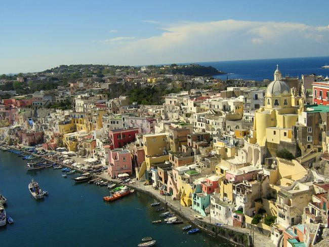 Life hasn't changed much in Procida. Picture: JJKDC.
