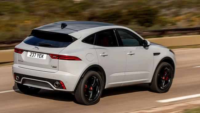 Jaguar based the E-Pace on sister brand Land Rover's Evoque. Pic: Supplied.