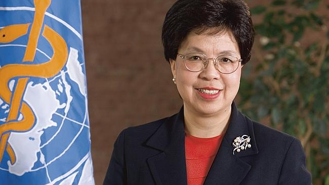 World Health Organisation director general Dr Margaret Chan.