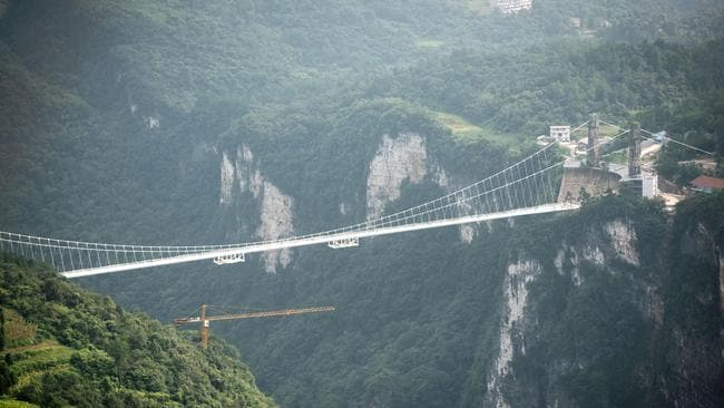 'No problem' with China's terrifying bridge