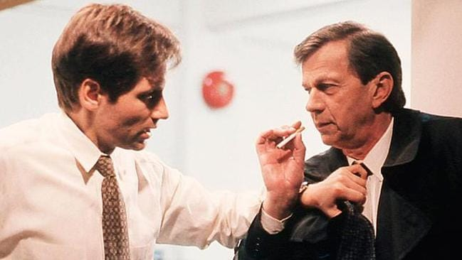Cigarette Smoking Man and Mulder have a complicated relationship.