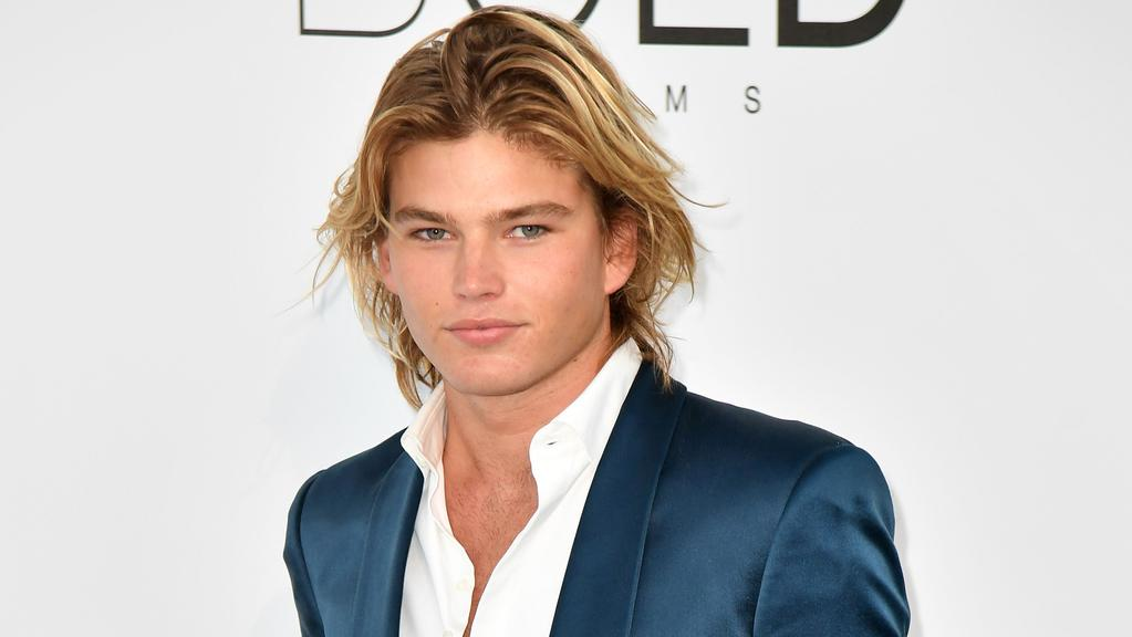 Male model Jordan Barrett has his eyes set on entrepreneurship and acting. Picture: AFP Photo/ Alberto Pizzoli