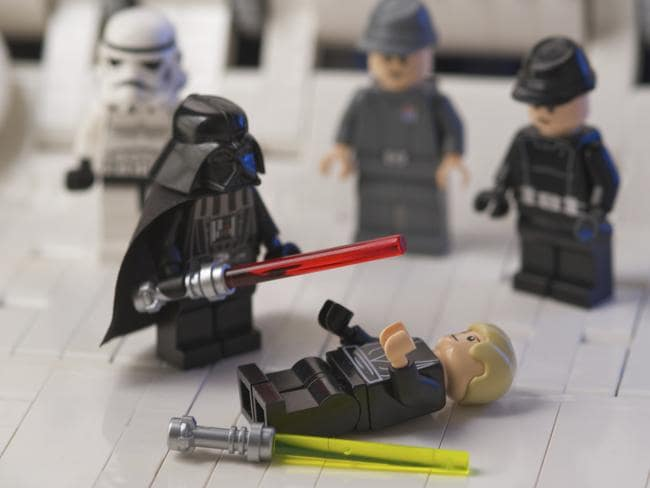 Lego becoming increasingly violent