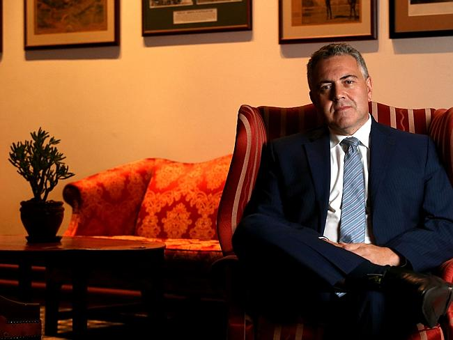 Joe Hockey has said the recommendations won't necessarily appear in the budget.