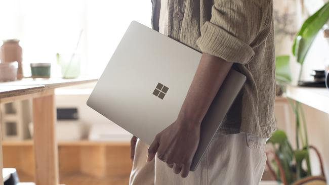 Microsoft's Surface Laptop is lightweight and well built.