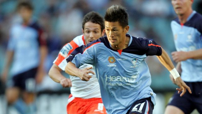 Japanese star Kazuyoshi Miura electrified the pitch in his four games for Sydney FC. Picture: Gregg Porteous