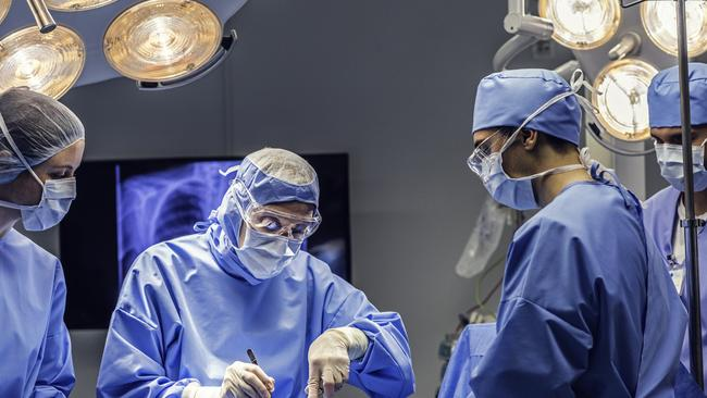 Bramhall was a liver, spleen and pancreatic surgeon for more than 12 years. Picture: iStock