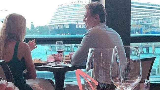 Ashley and Justin were spotted having lunch together. Photo: Instagram