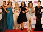 Real Housewives of Melbourne during the Red Carpet Arrivals ahead of the 56th TV Week Logie Awards 2014 held at Crown Casino on Sunday, April 27, 2014 in Melbourne, Australia. Picture: Jason Edwards