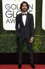 Dev Patel attends the 74th Annual Golden Globe Awards at The Beverly Hilton Hotel on January 8, 2017 in Beverly Hills, California. Picture: Getty