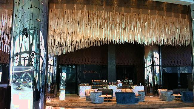 The lobby of the Capital Gate. Picture: Kate Schneider