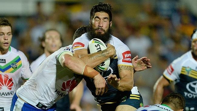 James Tamou on the charge.