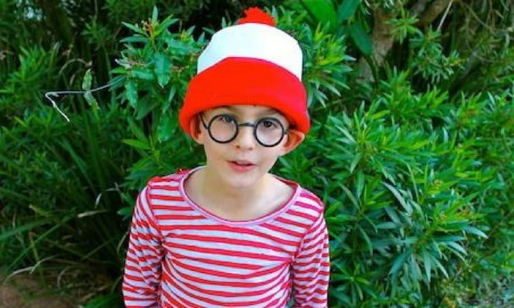 RUN AND HIDE WITH WALLY. For the old classic, Where's Wally? All you really need are some stripey clothes and a pair of glasses. And Wally is so widely recognised that nobody will be asking why you're meant to be. And for little girls that may not want to dress up as a boy there's always Wally's friend, Wilma!