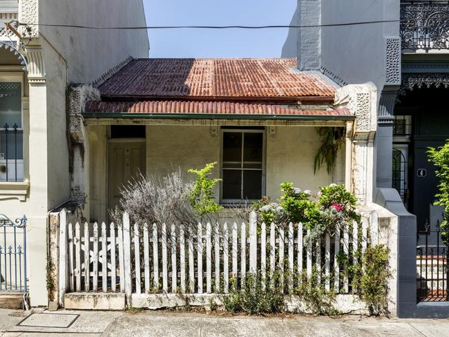 And prices can got up pretty quickly. This place at 6 Broughton Street, Paddington sold for $1.7m recently, but had sold in 2015 for $1.2m.