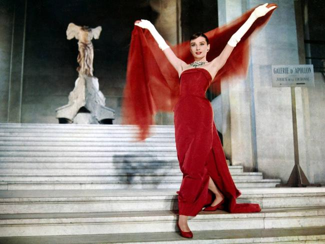Audrey Hepburn in a scene from film, Funny Face