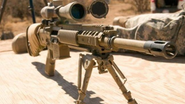 The older M110 used fires the same 7.62mm ammunition as the G28